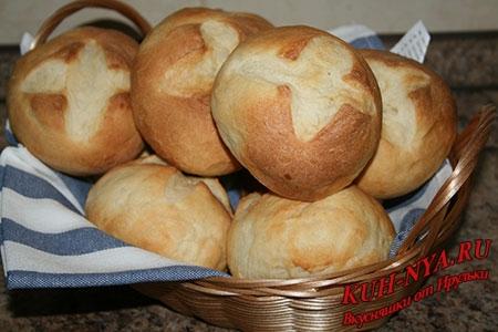 Домашние молочные хлебцы