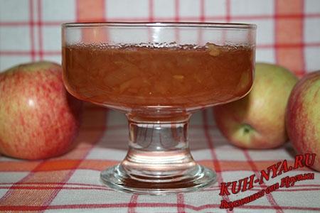 Яблочный джем из антоновки