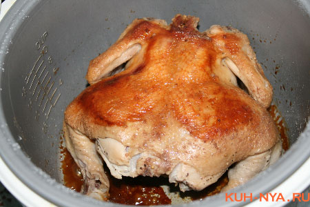 Рецепт курицы в мультиварке жареные