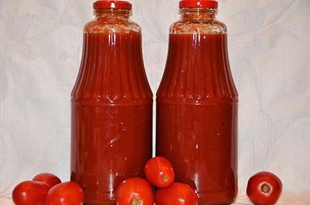 Пассата из томатов или томат по-домашнему