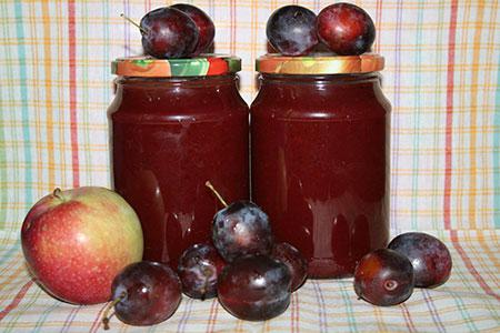 Конфитюр сливово-яблочный