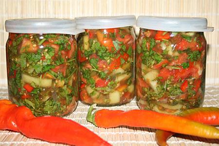 Заправка (овощная приправа) для борща, супа и других блюд