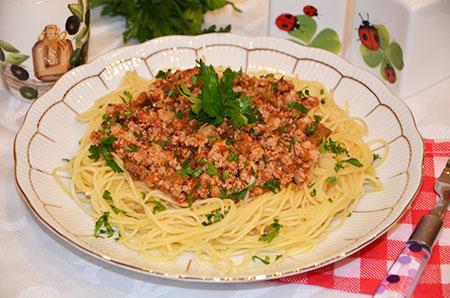 Соус для спагетти с фаршем и томатной пастой рецепт